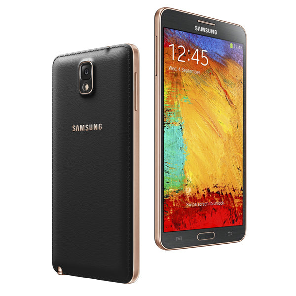 Samsung Galaxy Note 3 gold black