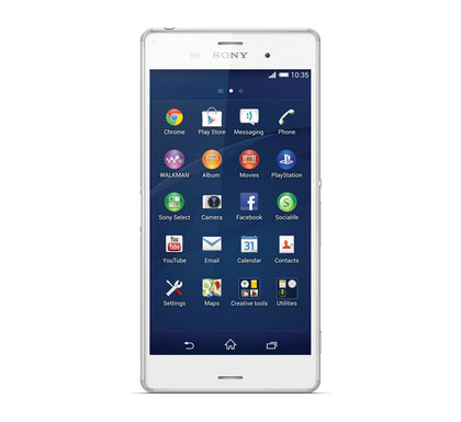 Sony Xperia Z3 Mobile D6603 White