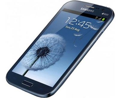 Samsung Galaxy Grand screen