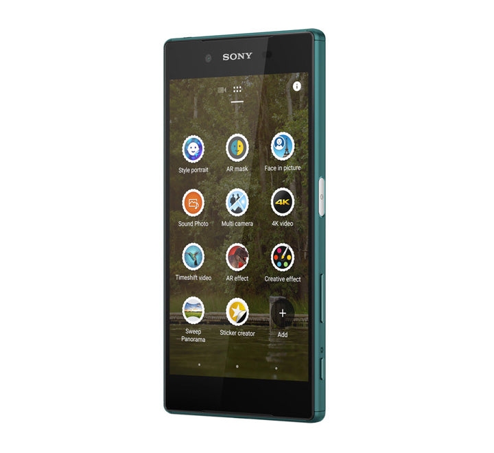 Sony Xperia_Z5 Single_SIM 32_GB 4G_LTE-4k-Smartphone Green