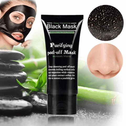 Shills™ Deep Cleansing Blackhead Removal - Bamboo Charcoal Peel Off Black Mask - Baby Feet - Baby Foot™
