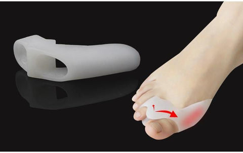Silicone Shield Bunion Guards - Pad Cushion Aid - Toe Separators - Baby Feet - Baby Foot™