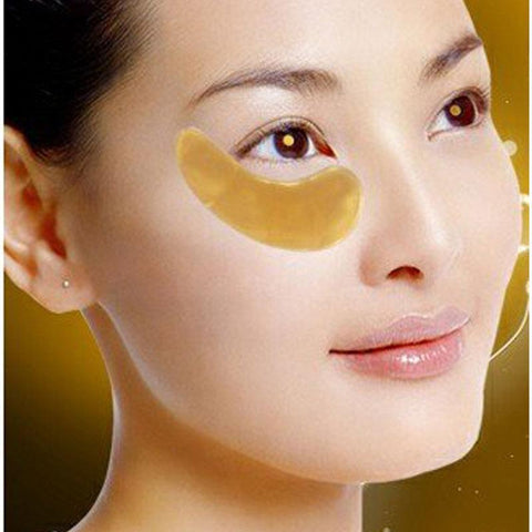 24k Gold Eye Pads - 10 Pairs Collagen Eye Mask Gel For Anti-Aging & Moisturizing, Reducing Dark Circles, Puffiness, Wrinkles - Baby Feet - Baby Foot™