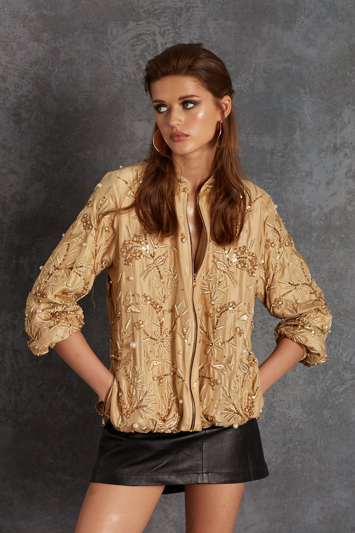 Gold Bird Jacket