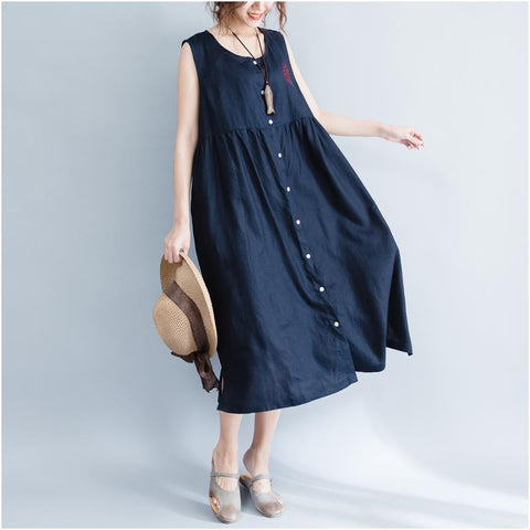 Blue Fashion Sundress