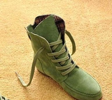 Autumn Fashion Women Casual Boots