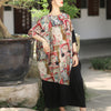 Bat Sleeve Vintage Dress