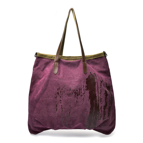 Super Large Capacity Women's Canvas Bag