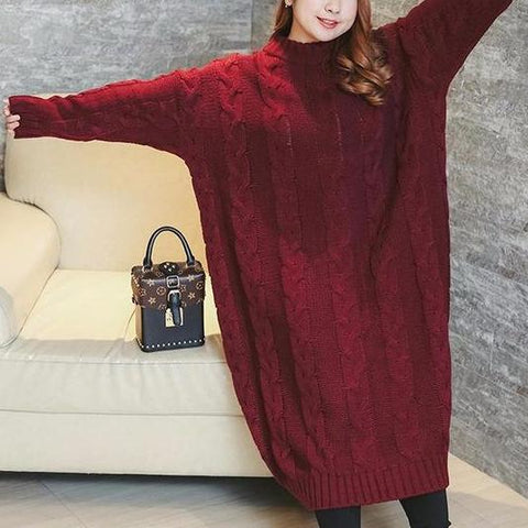 Autumn Sweeter Dress For Women Large Size