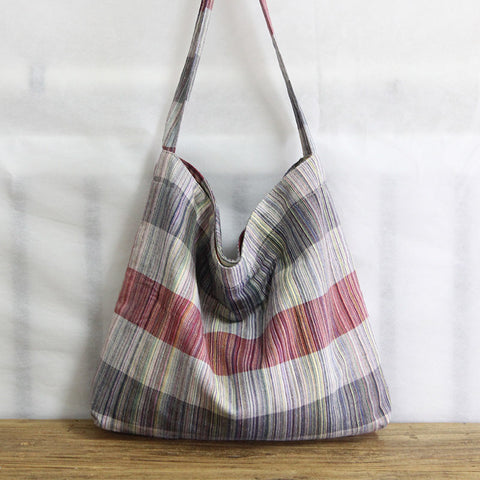 Original Retro Cotton Linen Handbag