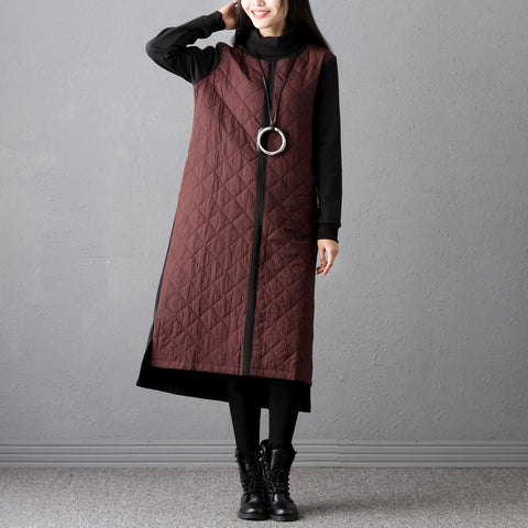 Winter Women Turtleneck Long Winter Dress