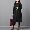 Black Vintage Knitted Long Sleeve Dress Sweeter