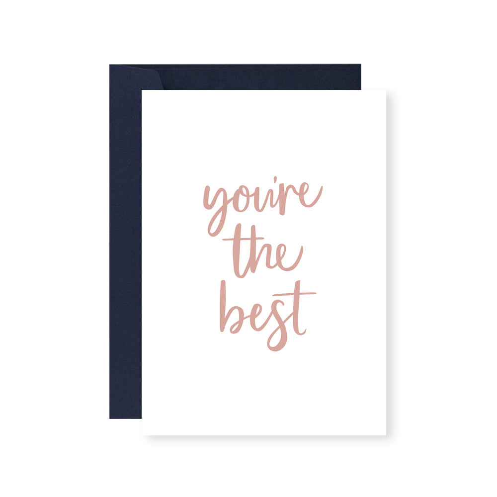You're The Best Greeting Card – Wild Wonder Design Co.