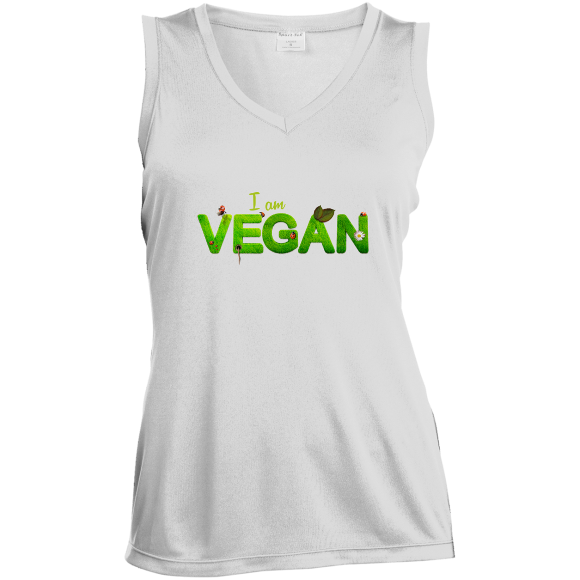 Vegan T-Shirt V-Neck