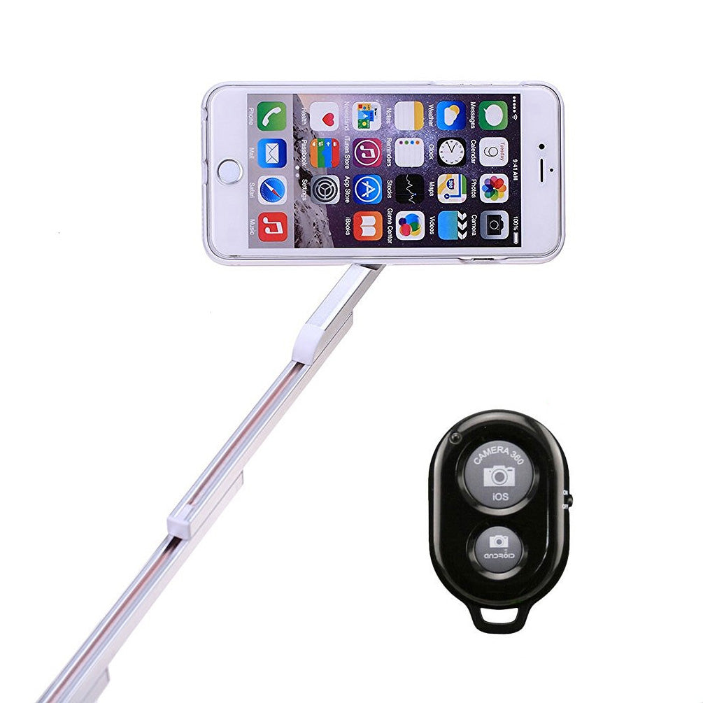2-in-1 Bluetooth Phone Case Selfie Stick Aluminum for iPhone 7 Plus