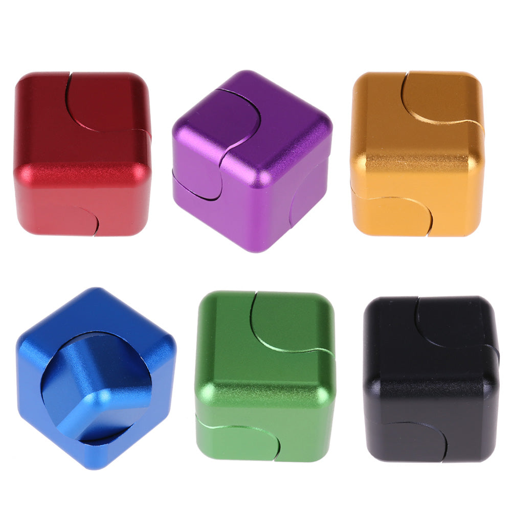 Magic Cube Rotating Anti Stress Spinner Toy ADHD Fingertip Gyro Fidget Cube for Children Birthday Gift