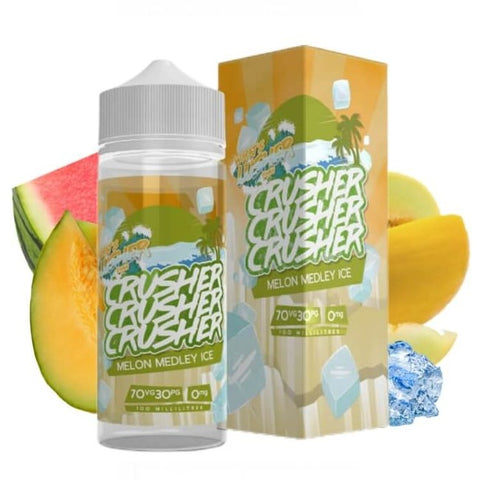 Crusher 120ml - Melon Medley Ice