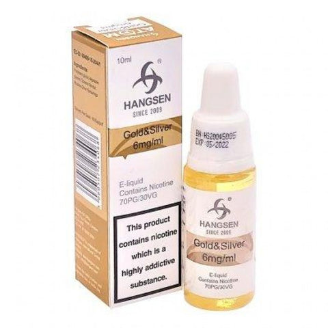 Gold& Silver E-Liquid By Hangsen