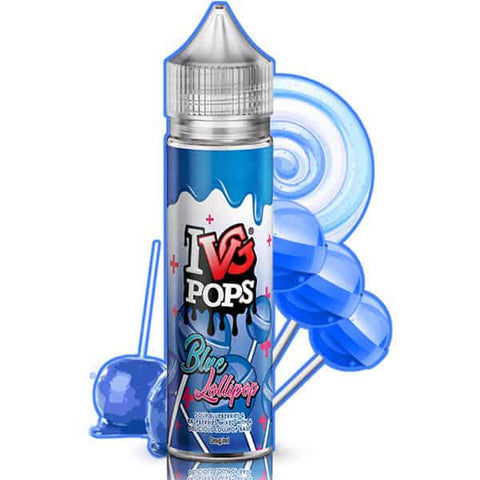 IVG 60ml Shortfill Blue Lollipop Vape Liquid