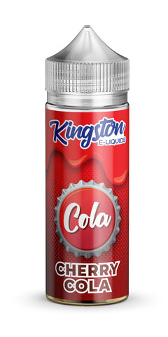 Buy Kingston Cola 120ml - Cherry Cola Vape Liquid | Master Vaper