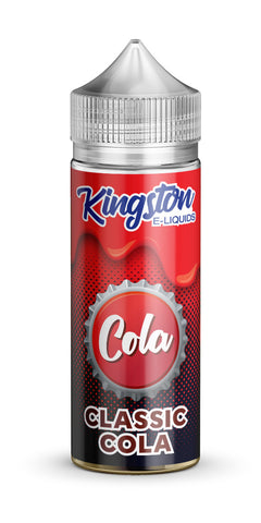 Buy Kingston Cola 120ml - Classic Cola Vape Liquid | Master Vaper