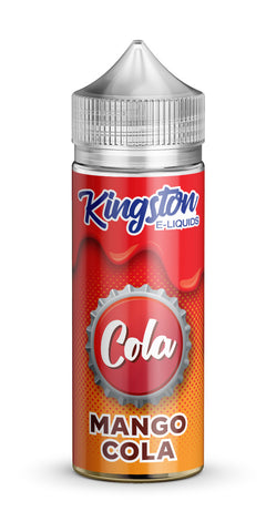 Kingston 120ml Shortfill Mango Cola Vape E-Liquid