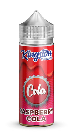 Kingston 120ml Shortfill Raspberry Cola Vape E-Liquid