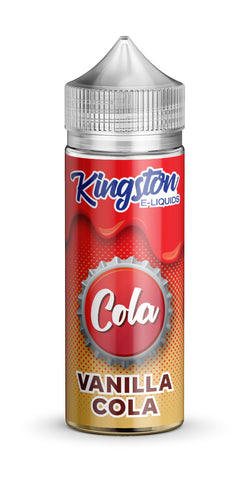 Kingston 120ml Shortfill Vanilla Cola Vape E-Liquid