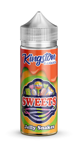 Kingston 120ml Shortfill Jelly snakes Vape E-LIquid