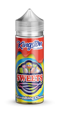 Kingston 120ml Shortfill Refreshing Chews Vape E-Liquid