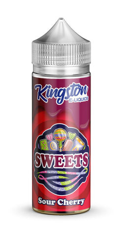 Kingston 120ml Shortfill Sour cherry sweets Vape E-Liquid