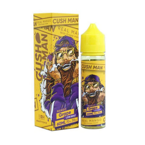 Buy Nasty 60ml - Cush Man Mango Grape E-Liquid | Master Vaper
