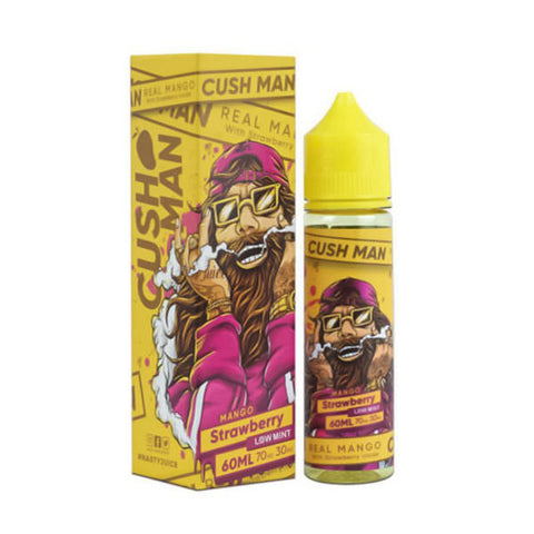 Buy Nasty 60ml - Cush man Mango Strawberry E-Liquid | Master Vaper