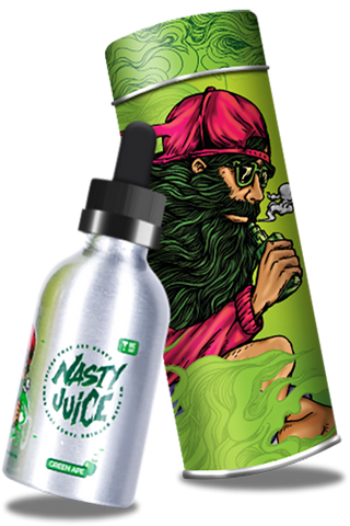Nasty Juice 50ml Shortfill - Green Apple Vape E-liquid