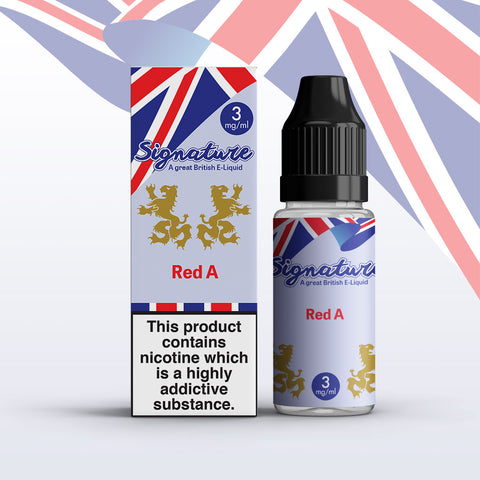 Red A E-Liquid By Signature