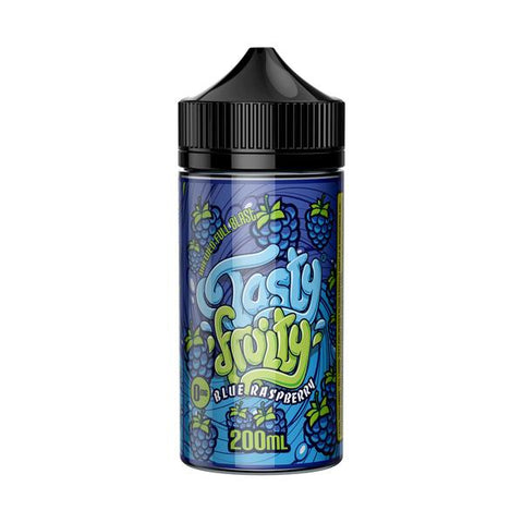Buy Tasty Fruitt 200ml - Blue Raspberry Vape Liquid Online | Master Vaper