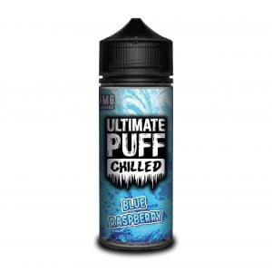 Ultimate Puff 120ml Shortfill Blue Raspberry Vape E-Liquid