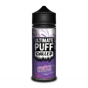 Ultimate Puff 120ml Shortfill Grape Chilled Vape Liquid