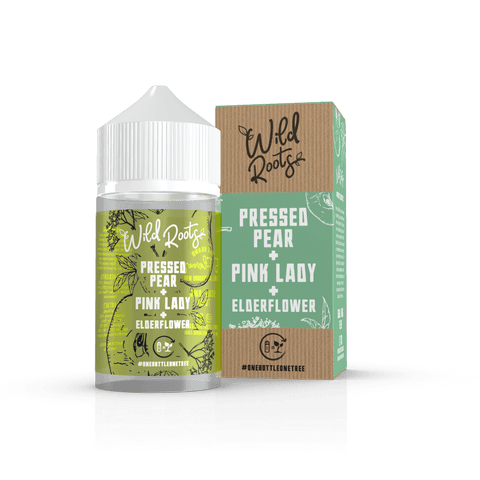Wild Roots 60ml - Pressed Pear, Pink Lady & Elderflower