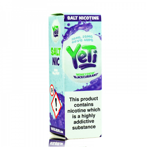 Yeti Nic. Salt - Honeydew Blackcurrant