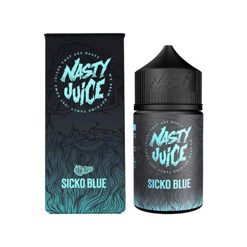 Buy Nasty 60ml - Berry Series Sicko Blue E-Liquid | Master Vaper