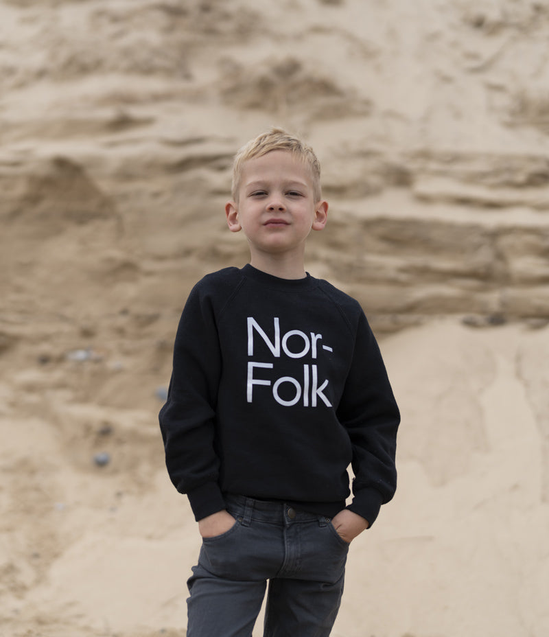Nor–Folk Play Hard Kids T-Shirt