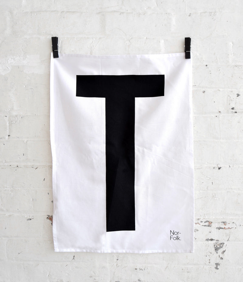 Monochrome T Towel