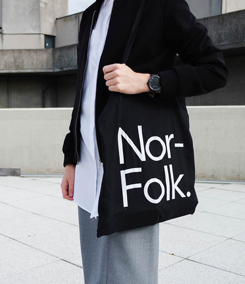 Nor–Folk Basics Tote Bag – Black - Nor–Folk