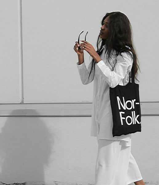 Nor–Folk Basics Tote Bag – Black