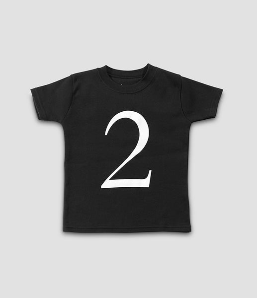 The Wonder Years – Black No.2 (short sleeve)