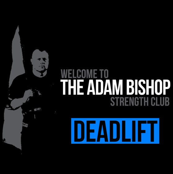 Deadlift - Adam Bishop Strength Club