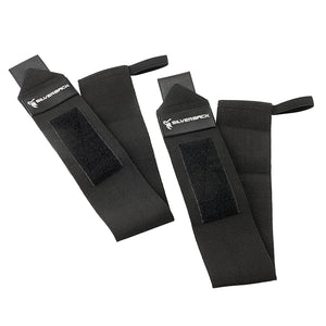 Silverback Flexible Black Wrist Wraps