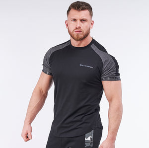 Pro-Fit Contoured Black - T-Shirt