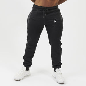 Silverback Evolve Embroidered Joggers - Black